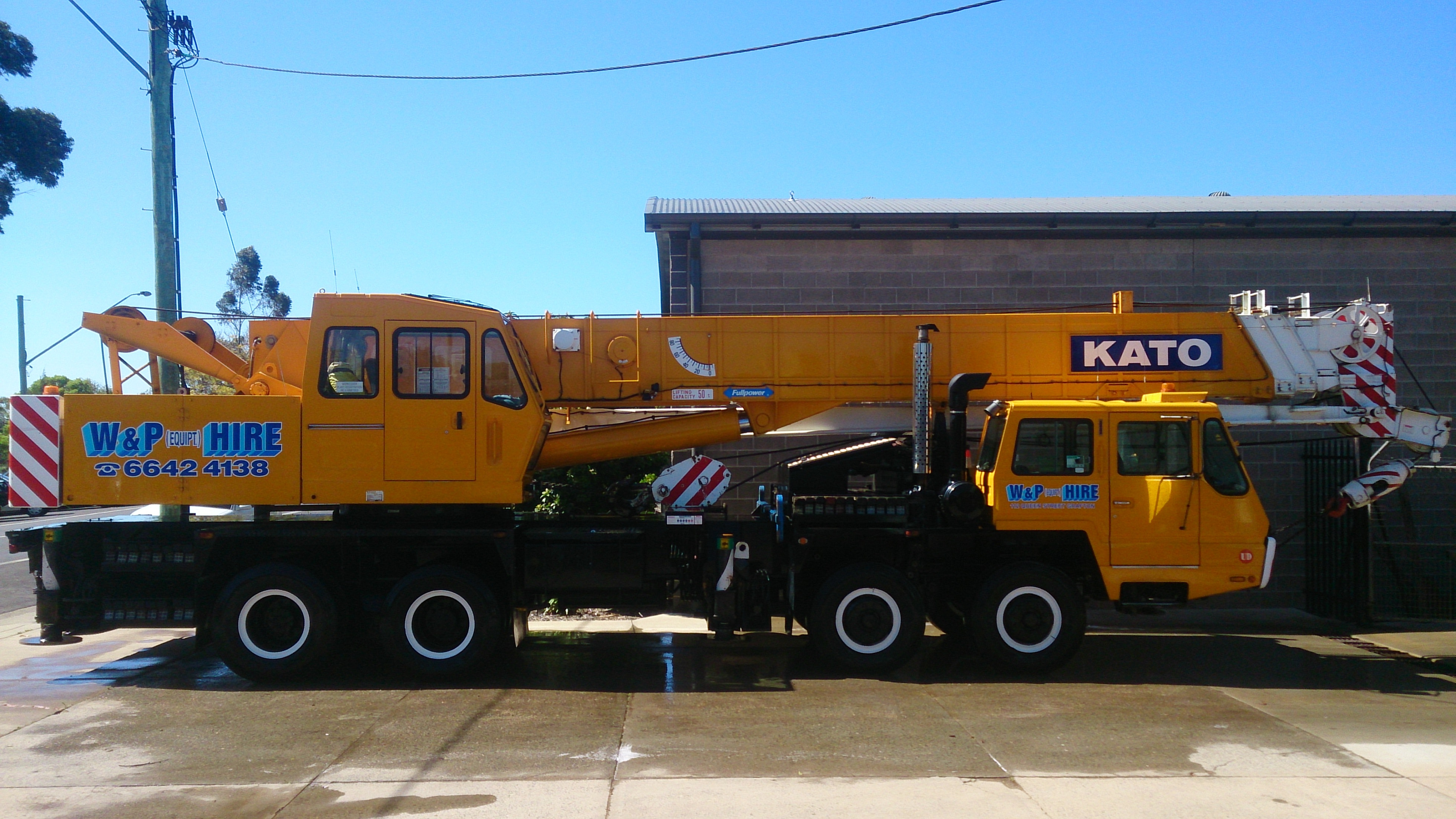 51t - 100t SWL Cranes for hire - Wicks and Parker Cranes