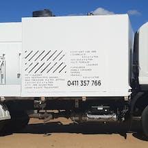 Logo of Aussie Vac Trucks