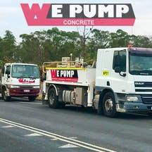 Logo of We Pump Concrete