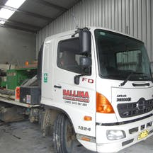 Logo of Ballina Concrete Pumping
