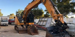 Bellaluca Construction and Stone  Track Mounted Excavator