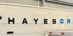 Hayes Cranes banner