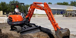 Bells Plant Hire Track Mounted Excavator