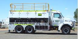 Armfleece Earthmoving Pty Ltd Road Service Truck