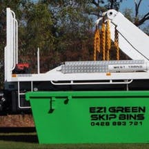 Logo of Ezi Green Skip Bins
