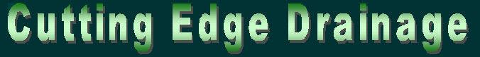 Cutting Edge Drainage