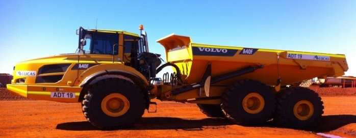 40t Plus Dump Truck for hire - Lucas Total Contract Solutions