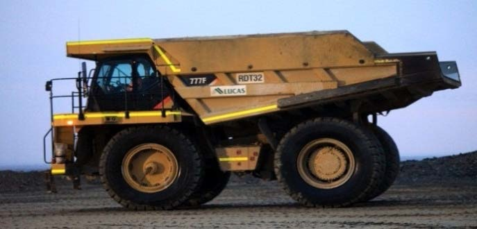100t - 249t Dump Truck for hire - Lucas Total Contract Solutions