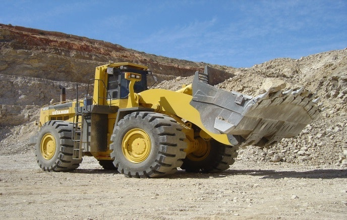 12t - 20t Loader for hire - Lucas Total Contract Solutions