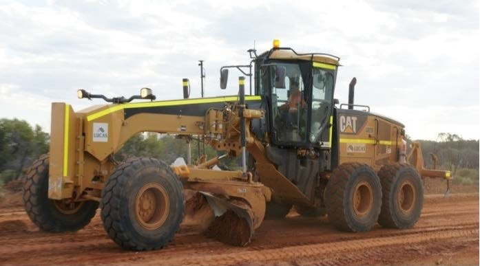 10ft Blade Grader Grader for hire - Lucas Total Contract Solutions