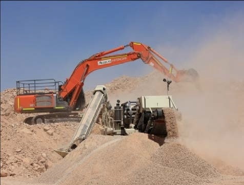 All Sizes Crushing, Screening, Conveying, Pugmills for hire - Lucas Total Contract Solutions