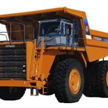 Logo of Hitachi Construction Machinery (Aust)