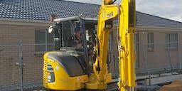 Brad Scott Excavations Track Mounted Excavator
