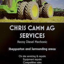 Logo of chris camm ag services
