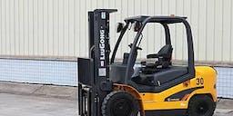 Australian Access Hire Diesel Powered Forklift