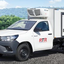 Logo of RTR Refrigerated Truck Rentals