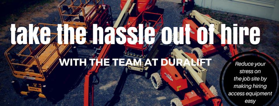 Duralift machinery for hire in Croydon South - iseekplant com au