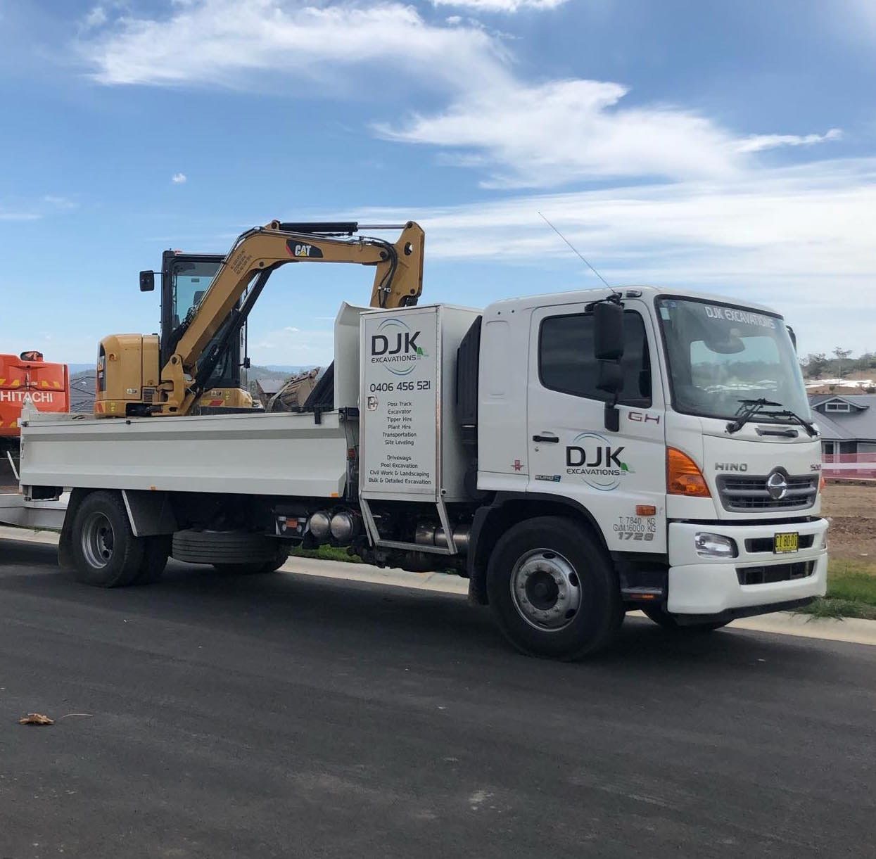 Bogie Drive up to 12t Road Truck for hire - DJK Excavations PTY LTD