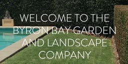 THE BYRON BAY GARDEN AND LANDSCAPE COMPANY banner