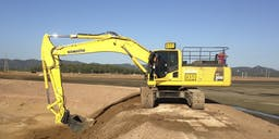 Allround earthmoving and transport Pty Ltd Track Mounted Excavator