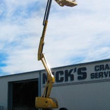 Logo of Nick's Crane Services