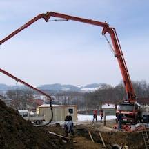 Logo of Maximum Concrete Pumping Pty Ltd