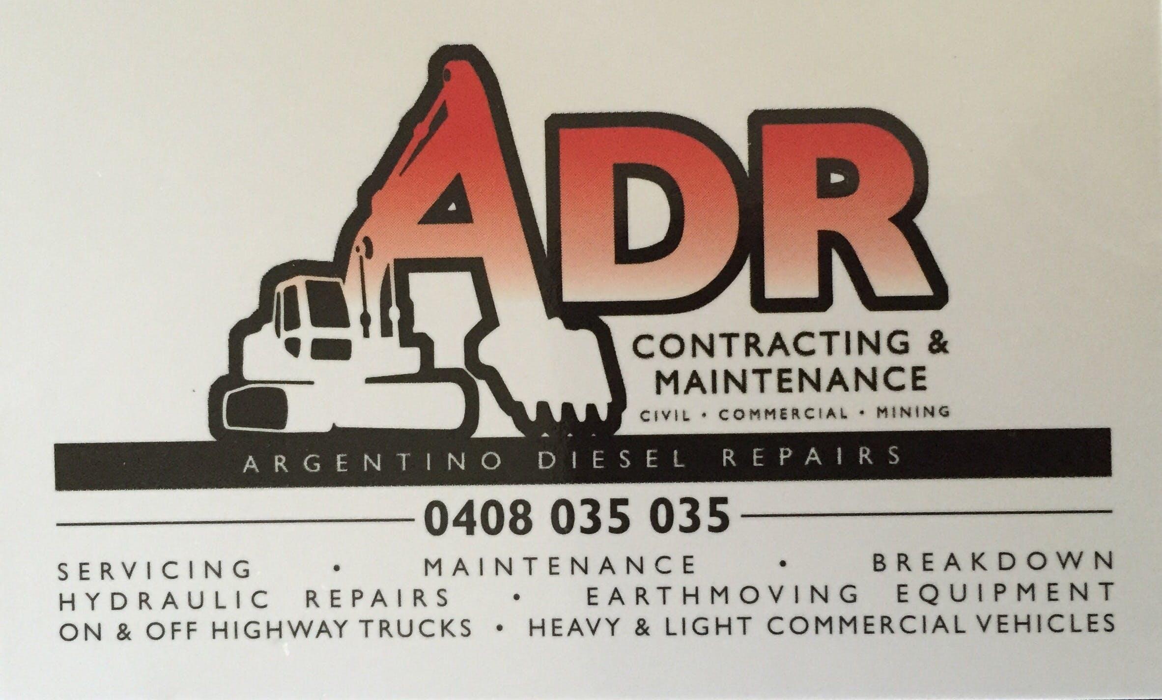 Argentino Diesel Repairs, Contracting & Maintenance