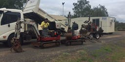 All Site Earthworks Track Mounted Excavator