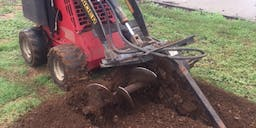 All Site Earthworks Ride On Trencher