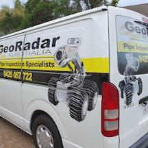 Logo of Geo Radar Australia
