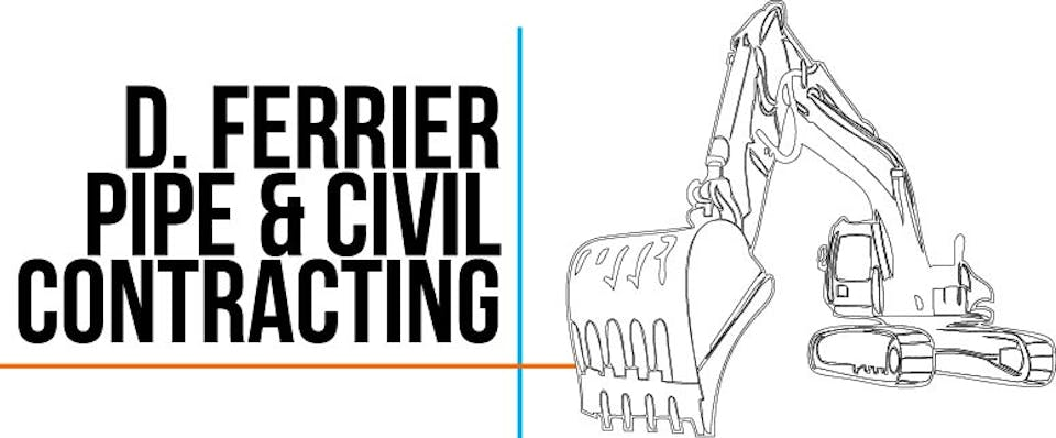 D Ferrier Pipe And Civil Contracting PTY LTD machinery for