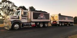 Hamilton haulage pty ltd banner
