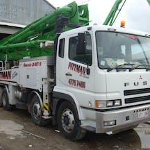 Logo of Pittman Concrete Pumping