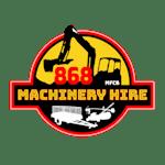 868 Machinery Hire MFCB logo
