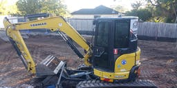 All Traxx Excavations Pty Ltd Track Mounted Excavator