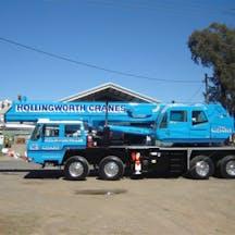 Logo of Hollingworth Crane Hire Service Pty Ltd