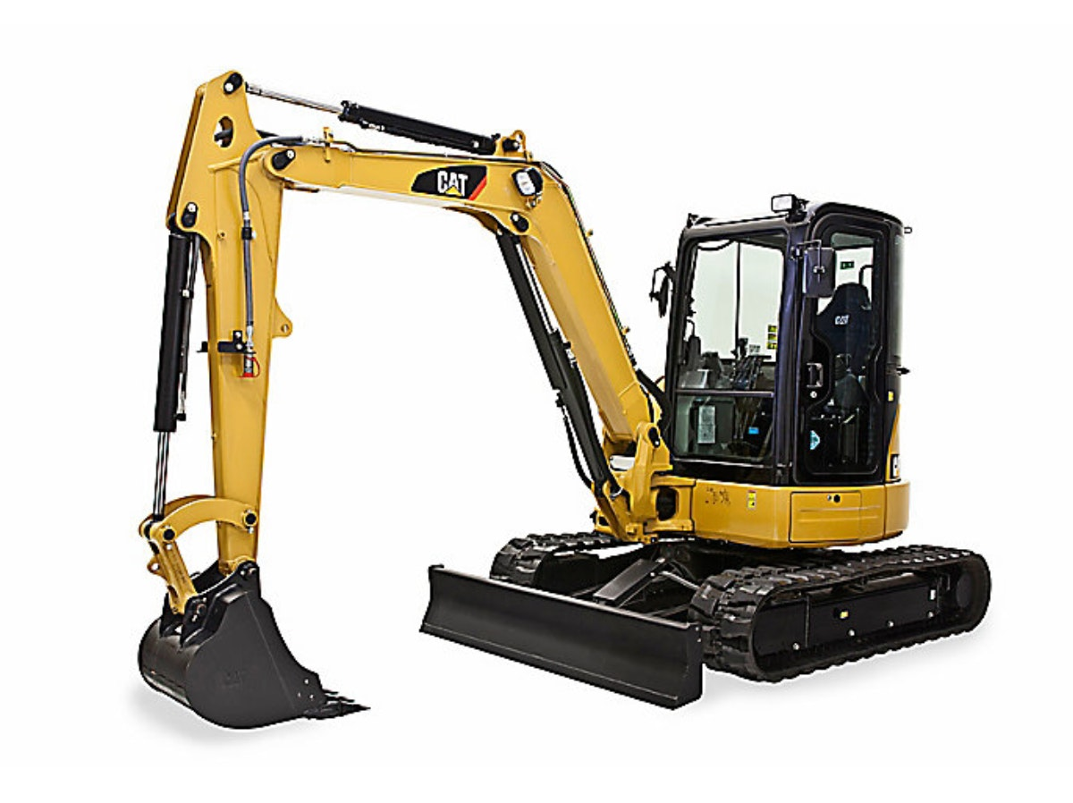 3.5t - 5.4t Excavator for hire - RediPlant