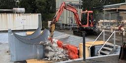 AAA Contracting and Plumbing Track Mounted
