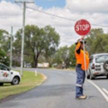 Logo of Lockyer Valley Traffic Management Pty Ltd