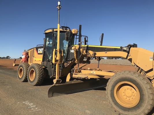 M & T Grader Hire machinery for hire in Tatton - iseekplant com au