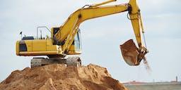 AP Graham Track Mounted Excavator