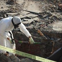 Logo of International Asbestos Removals Pty Ltd