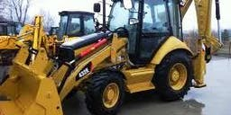 Access Imports and Distribution 4x4 Backhoe