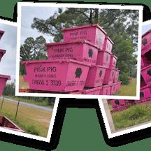 Logo of AAA Pink Pig Handy Bins