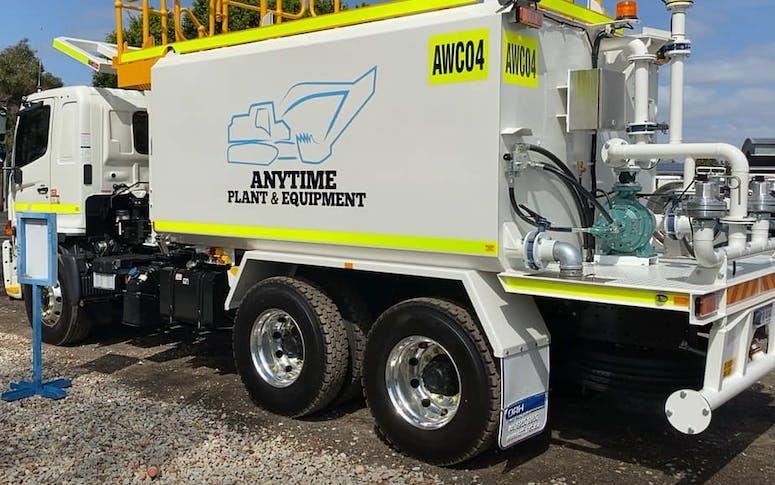 Truck Mounted Water Cart
