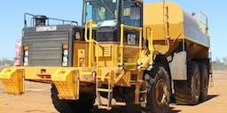 Amcor Excavations Dump Service Truck