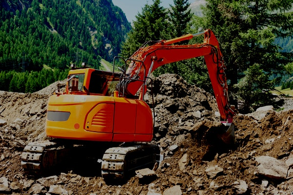 30t - 39t Excavator for hire - Consolidated Mining and Civil