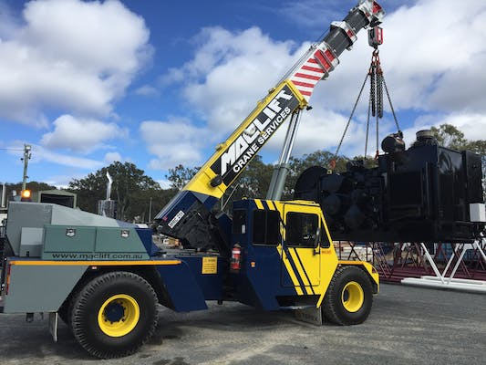Nationwide Crane Hire machinery for hire in Caloundra - iseekplant
