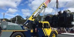 Big Lift Cranes  Non Slewing Mobile Crane