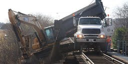 Brefni Excavations and Earthmoving Hi Rail Dump Truck
